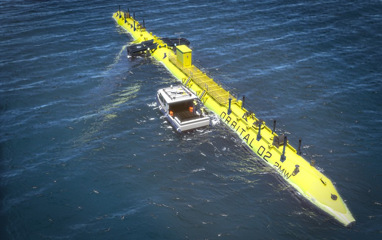 Orbital signs up for 2nd berth at EMEC to create floating tidal farm