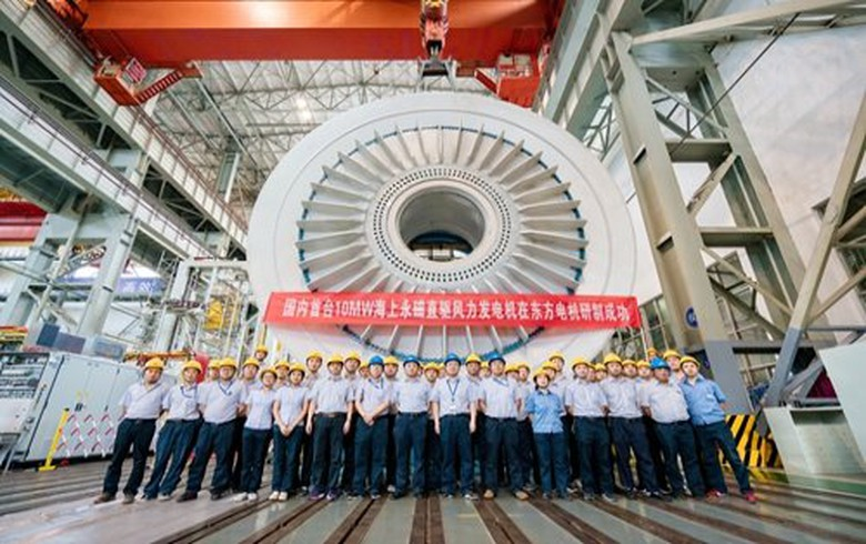 Prysmian to supply cables for China's 10-MW offshore wind turbine prototype