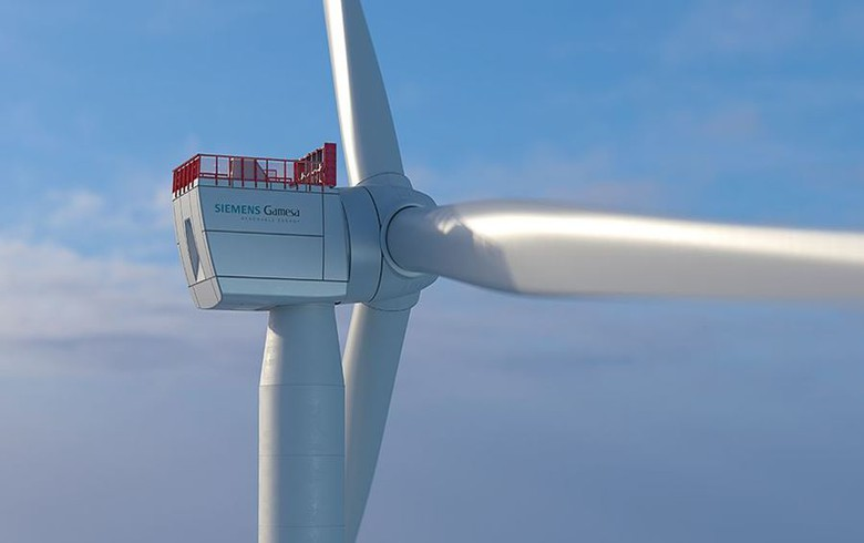 Siemens Gamesa presents 10-MW offshore wind turbine