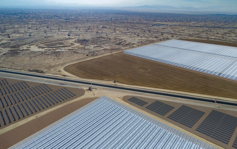 Aera, GlassPoint to build state's largest solar energy project in Kern County