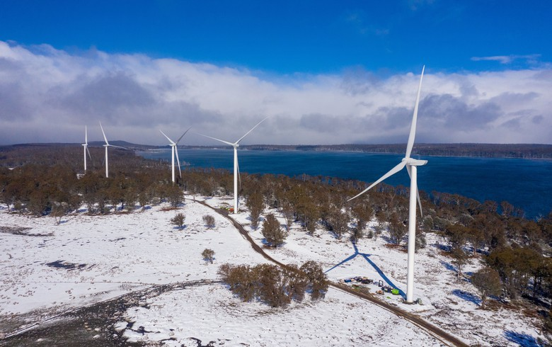 Goldwind exports 1st power from Tasmania's Cattle Hill wind farm