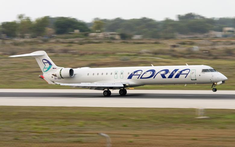 Slovenia's Adria Airways passenger numbers drop y/y in May, Koper port cargo throughput flat