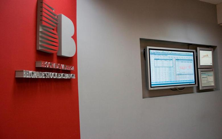 Komercijalna dominates Belgrade bourse trading, indices end mixed
