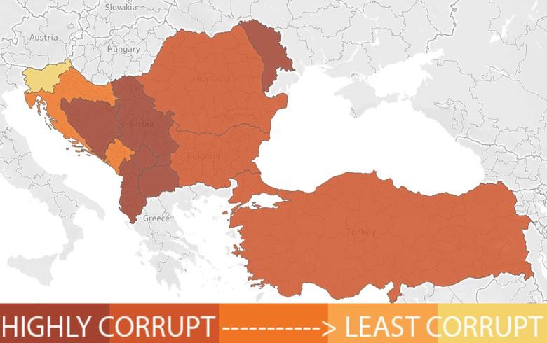 参见透明国际2020年腐败感知指数(CPI)中的国家