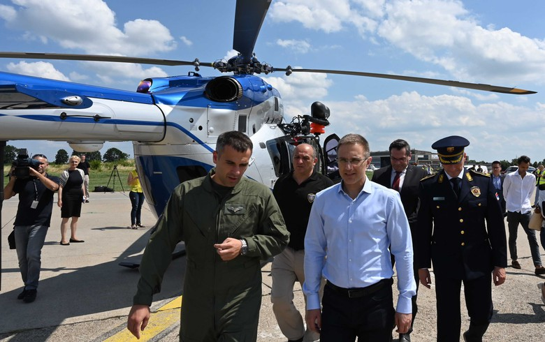 Serbia receives first two H145M helicopters from Airbus