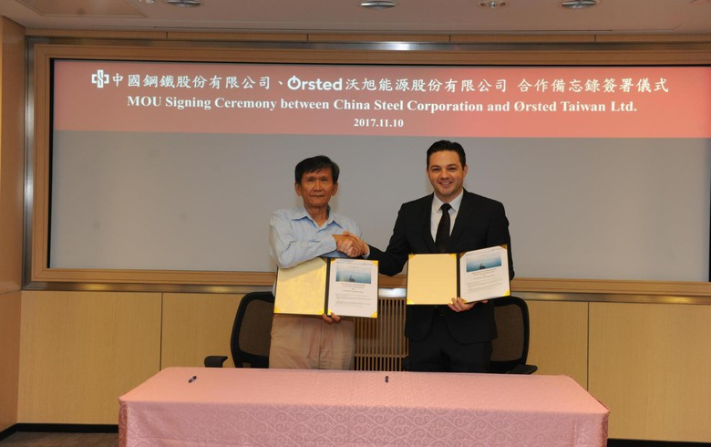 Ørsted inks MOU for local content in 2.4-GW wind project off Taiwan
