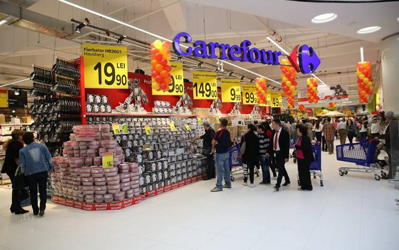 layout strategy in carrefour Carrefour has extensive ibeacon networks in all 28 of its hypermarkets in romania through which the retail chain offers its consumers a simple, intuitive, and fun app for orientation inside hypermarkets from area to area.