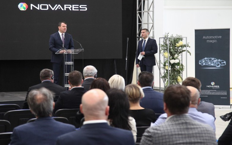 UPDATE 1 - France's Novares invests 5.2 mln euro in capacity expansion in Serbia