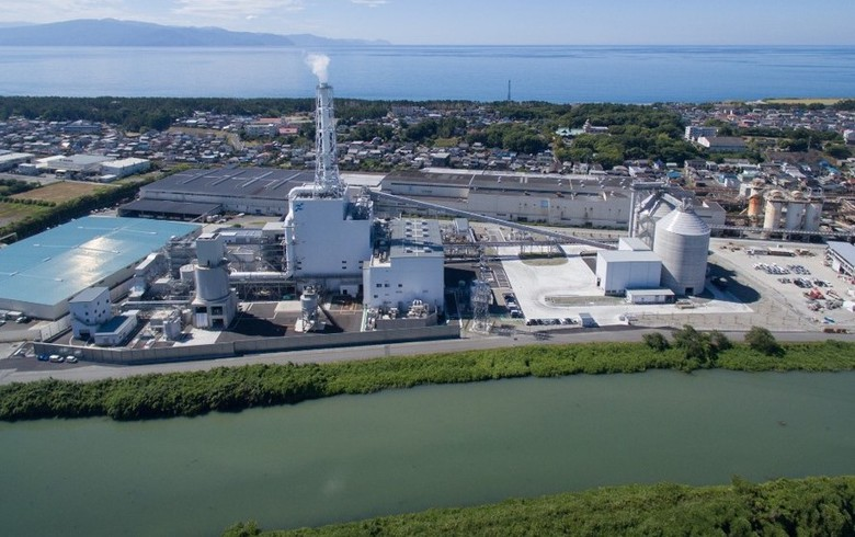 Mitsubishi to convert to biomass 112-MW power plant in Japan
