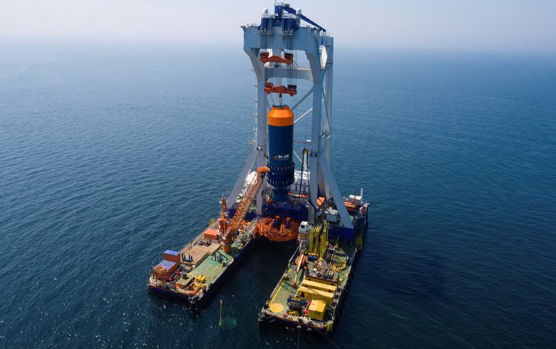Carbon Trust to test Blue hammer for offshore wind installation