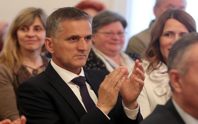 Croatia's state property minister Goran Maric resigns