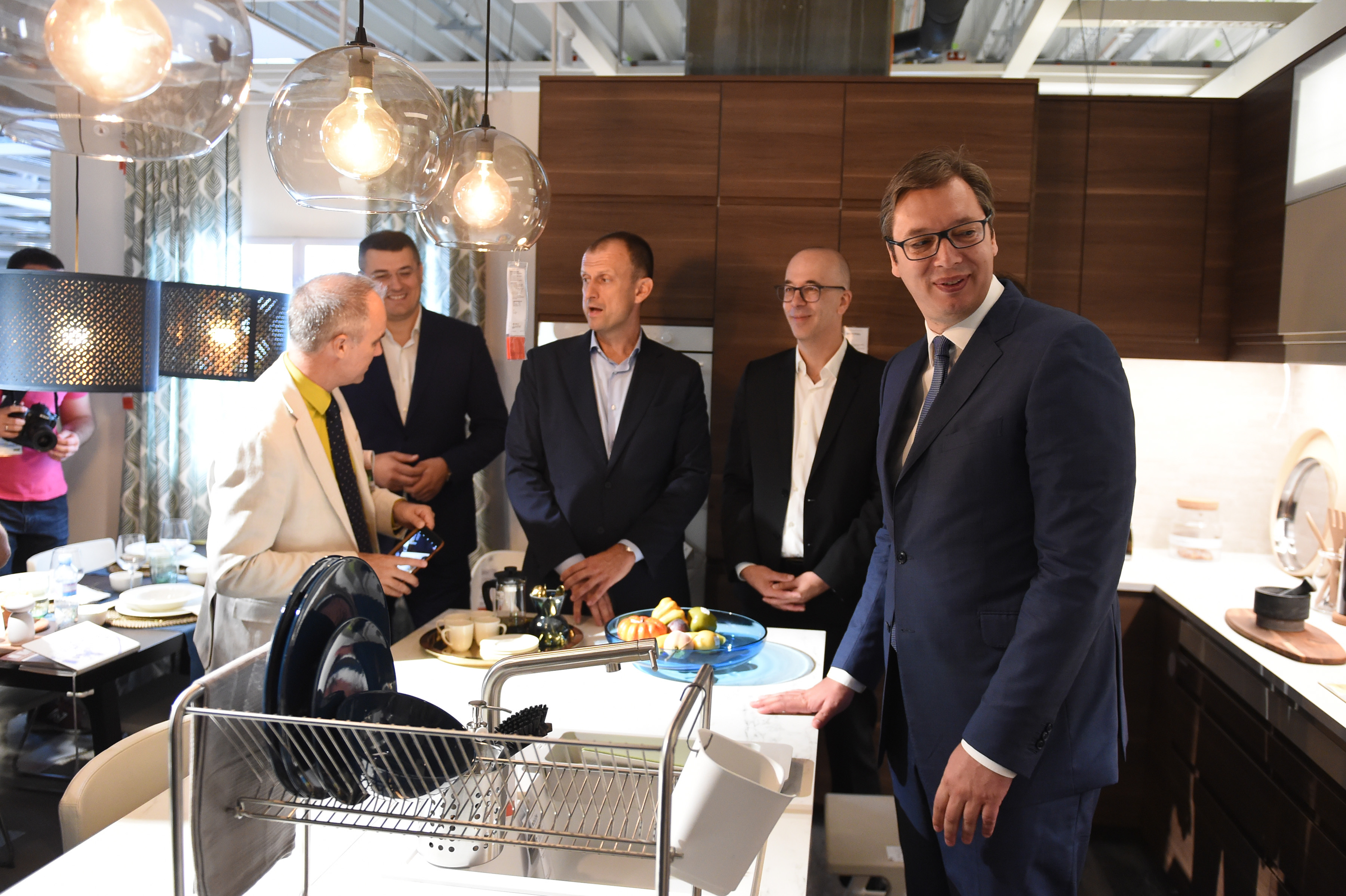 IKEA opens its first store in Serbia
