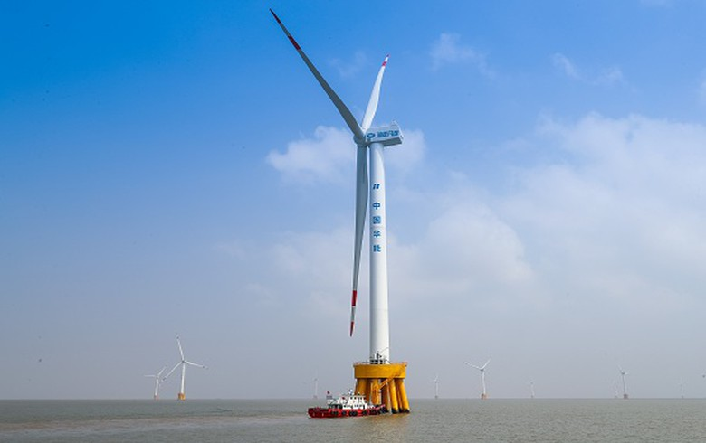 China Huaneng plans USD-23bn offshore wind hub in Jiangsu