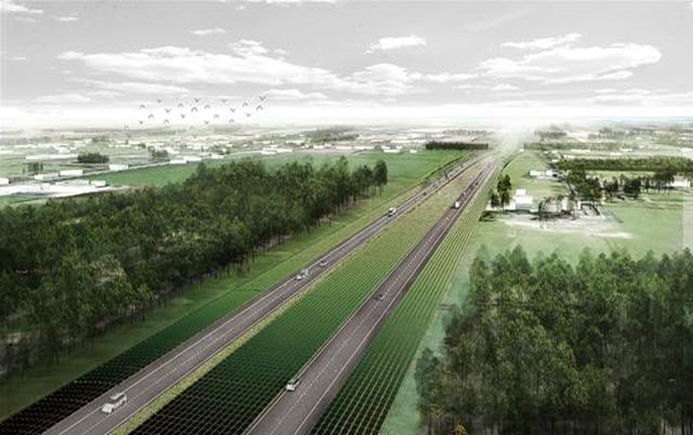 Netherlands looks to install solar panels along 40 km of motorway
