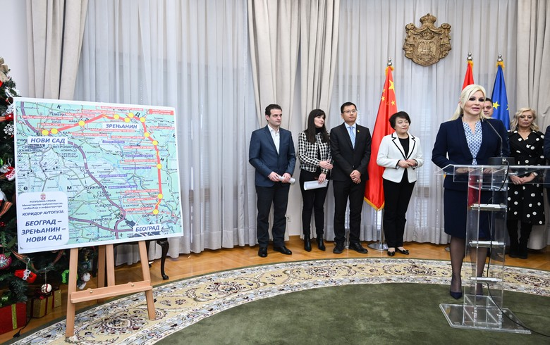 Serbia signs MoU with China's SDHS on drafting motorway project documentation