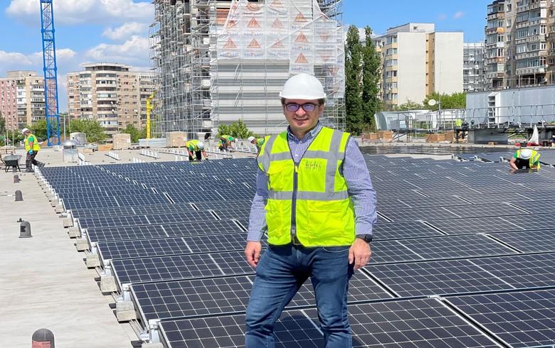 Simtel团队为Kaufland罗马尼亚建造了490.5 kWp普氏植物