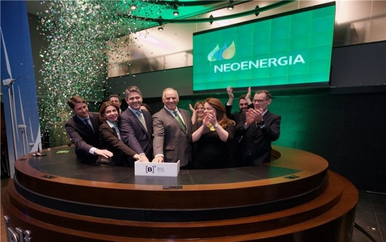Neoenergia stock rises 8.4% on 1st day of trading
