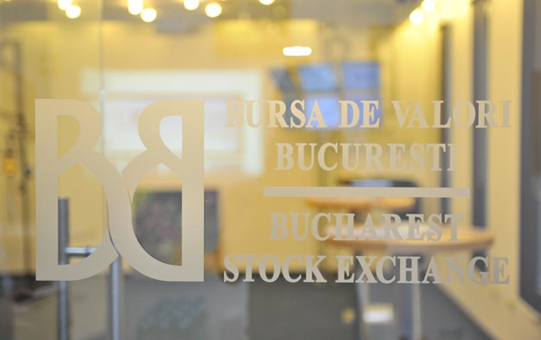 Romanian stock indices fall in lower turnover