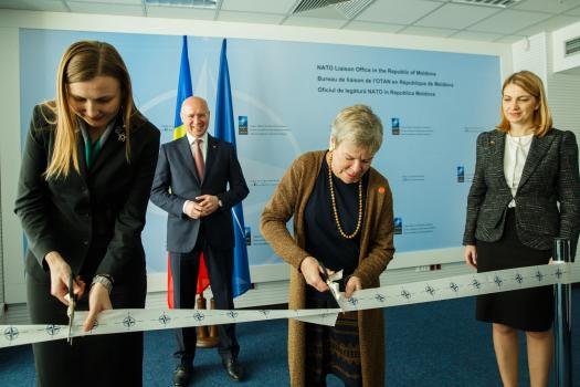 NATO opens liaison office in Moldova