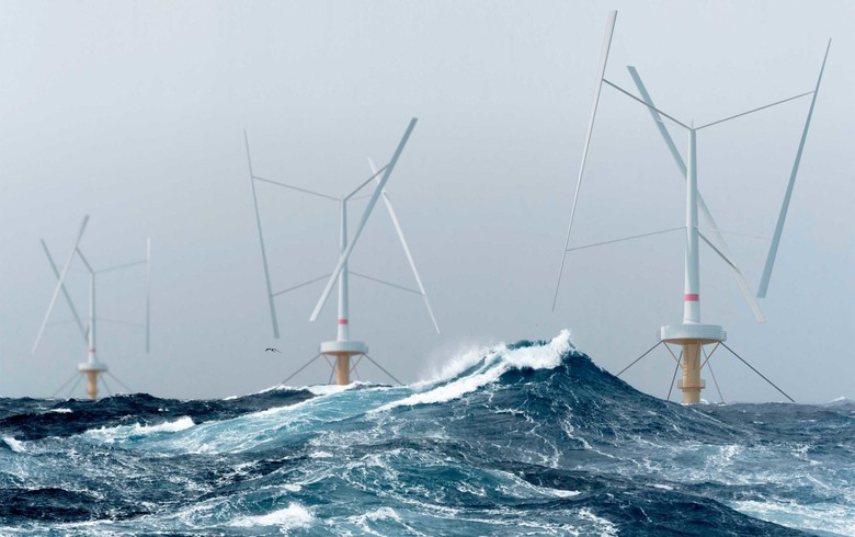 Floating wind firm SeaTwirl lines up power buyer for 1-MW project