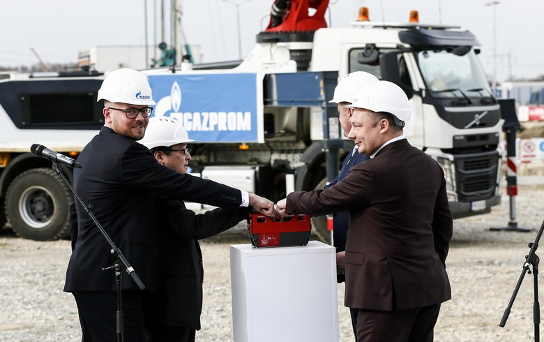 Gazprom starts construction of 200 MW gas-fired power plant in Serbia