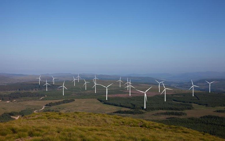 Wind's share in UK power jumps to 36.85% on May 26