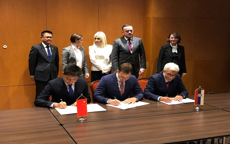 Serbia signs 190 mln euro heat pipeline deal with Powerchina