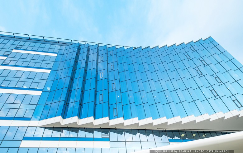 Skanska Romania inaugurates first office building of Equilibrium project