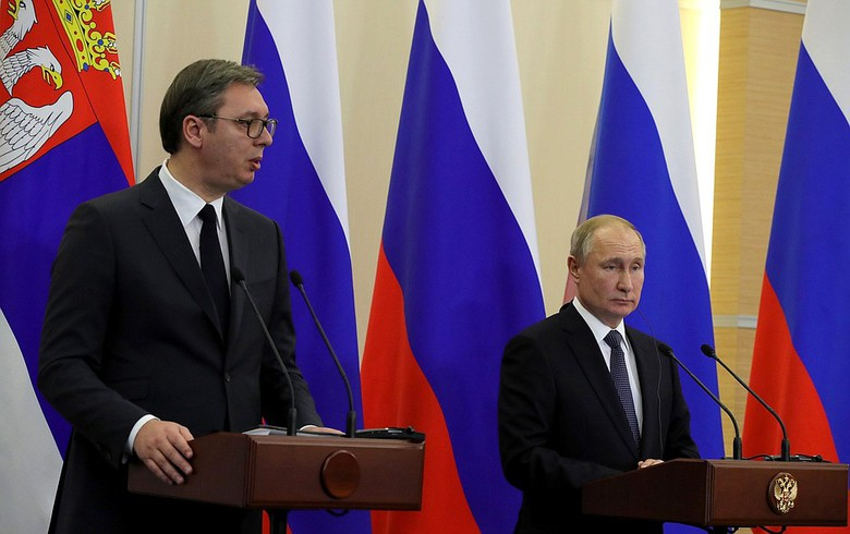 Pipes on 90% of Serbian section of TurkStream now laid - Putin