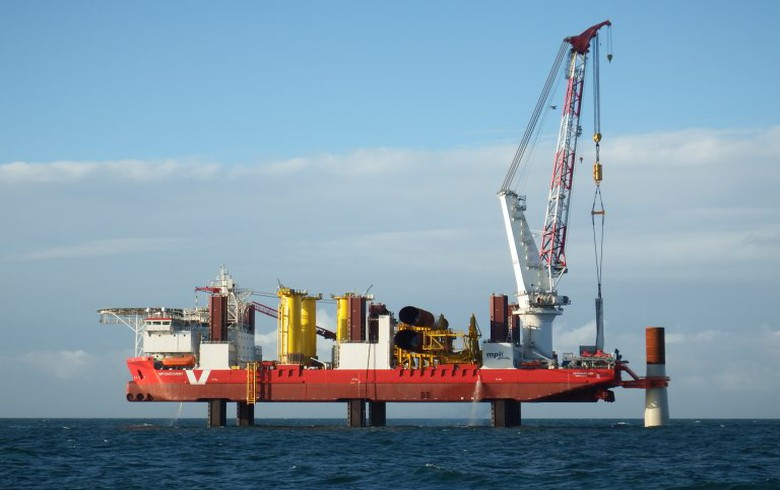 MPI Offshore to install foundations at Triton Knoll wind park