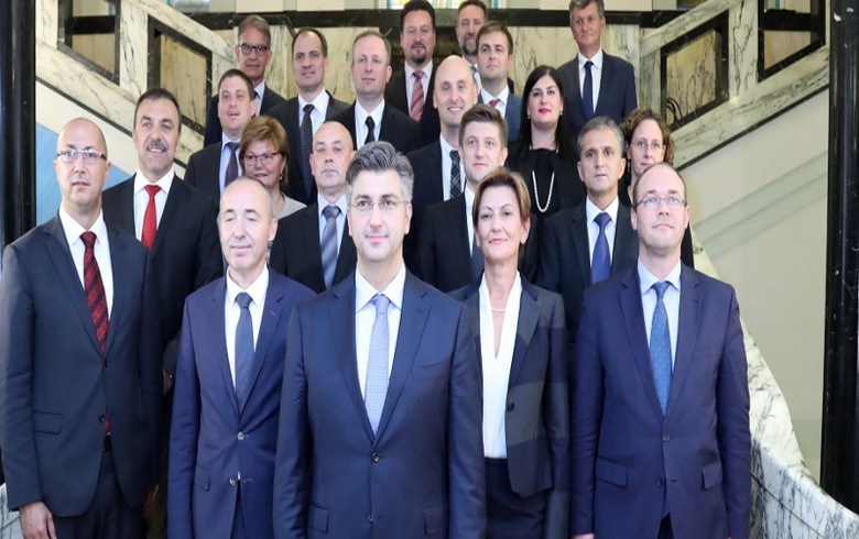 UPDATE 1 - Croatia's new PM Plenkovic takes office