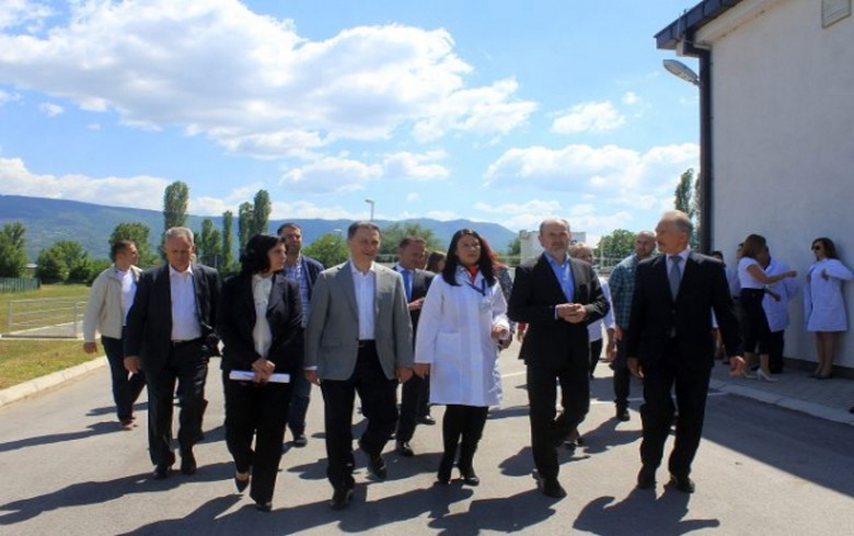 Macedonia opens 6.7 mln euro waste water treatment plant near Skopje