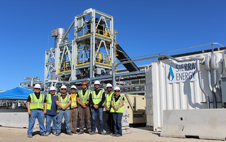 Sierra Energy raises USD 33m for waste-to-energy tech