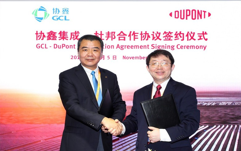 to-the-point: China's GCL-SI, DuPont to work on advancing PV equipment