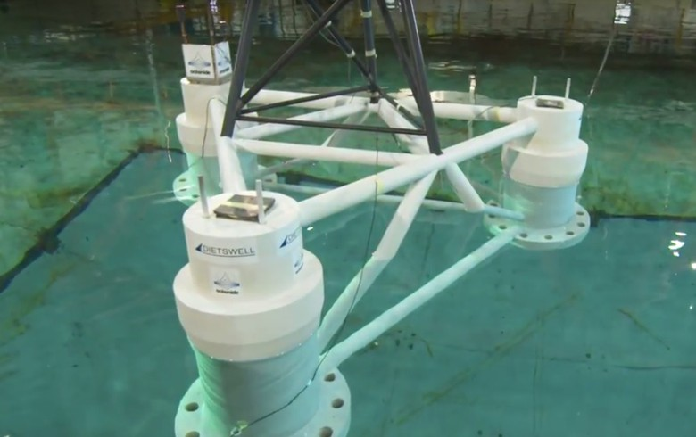 France's Dietswell wins funding for floating wind project