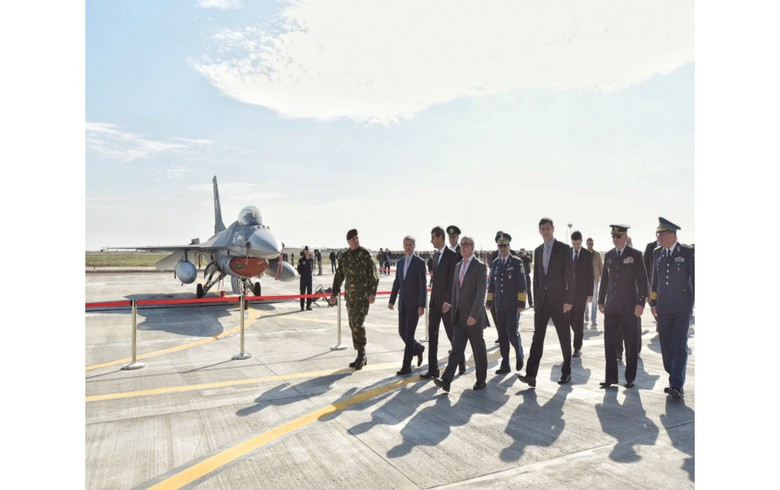 Romania receives last three F-16 fighter jets from Portugal