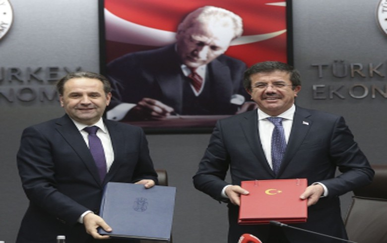 Serbia signs free trade agreement with Turkey