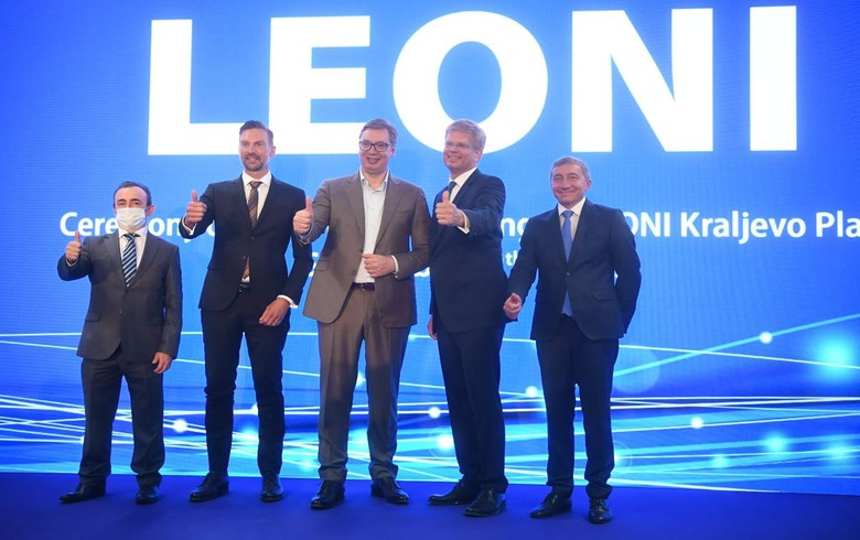 Germany's Leoni opens 50 mln euro plant in Serbia