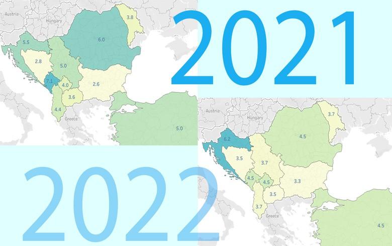 在2020年COVID-19大流行导致全球经济收缩3.5%之后,全球经济活动获得了显著动力;然而,它仍然远低于大流行前的预测