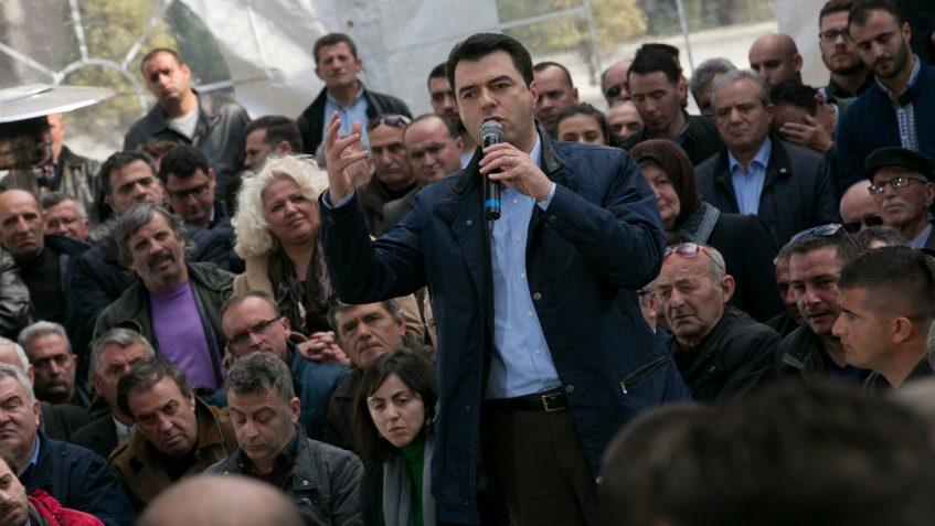 UPDATE 2 - Albanian PM, opposition PD reach deal on June 25 vote, caretaker govt
