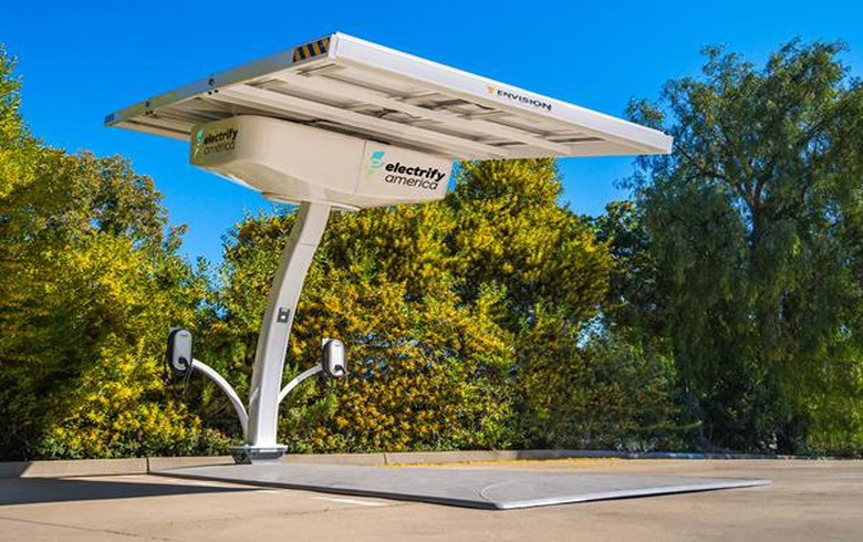 Envision Solar wins USD-2m order for solar-powered EV charging stations