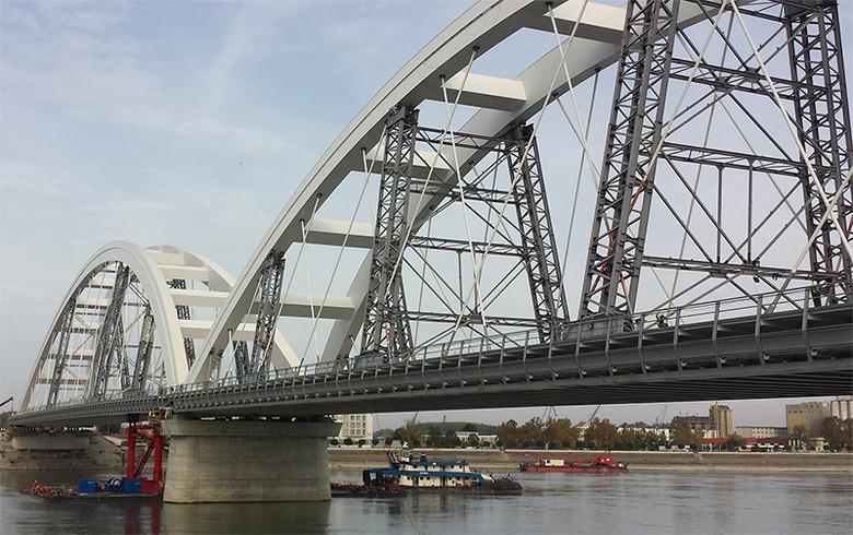 Serbia opens Zezelj bridge for traffic