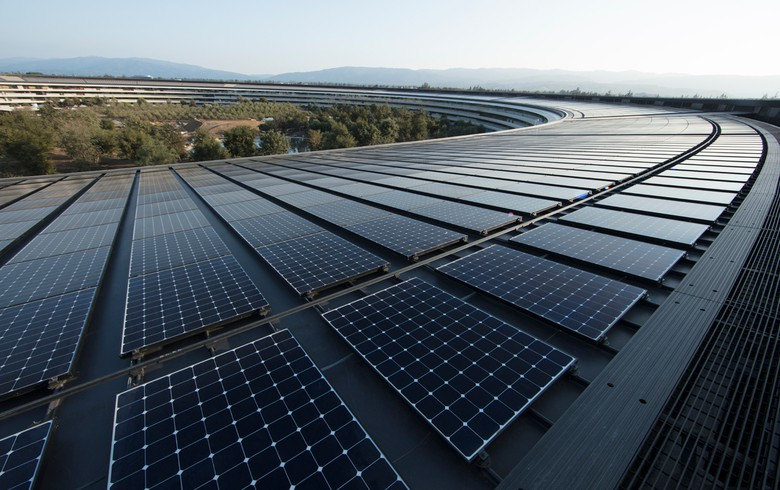 Apple to exceed 2020 goal as more suppliers commit to renewables