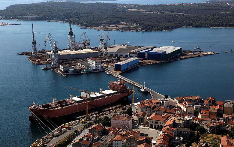 Croatia's FINA seeks bankruptcy for Uljanik shipyard