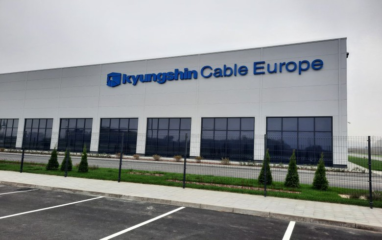 Kyungshin Cable completes construction of factory in Serbia's Smederevska Palanka - mayor
