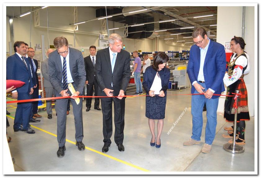 Germany's Kromberg&Schubert opens 29 mln euro factory in Serbia