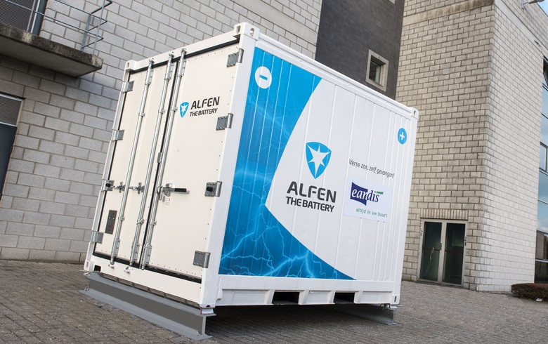 Alfen to supply 140-kW battery to Eandis in Belgium