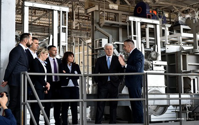 Montenegro's Uniprom opens silumin alloys unit at aluminium smelter KAP