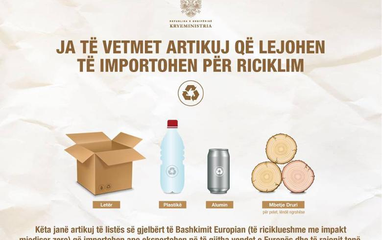 Albania will import only recyclable materials, not hazardous waste, PM Rama says