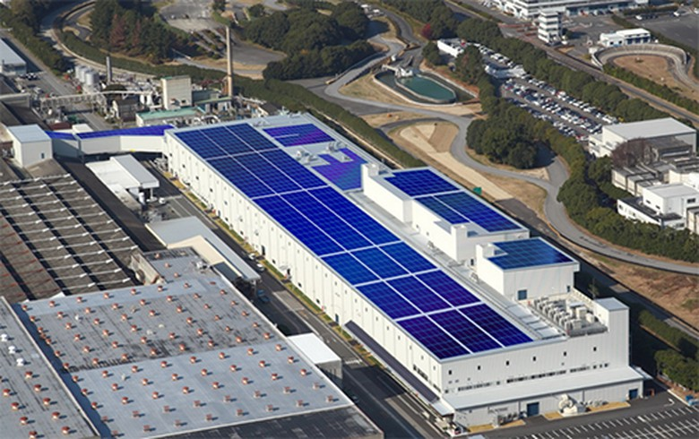 Mitsubishi Motors unveils solar system, battery storage project in Japan